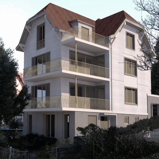 Totalsanierung Wohnhaus in Zollikon